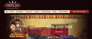 Play Slots at Tropezia Palace Casino